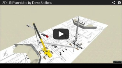 Overpass construction video by Dave Steffens at Lane Construction