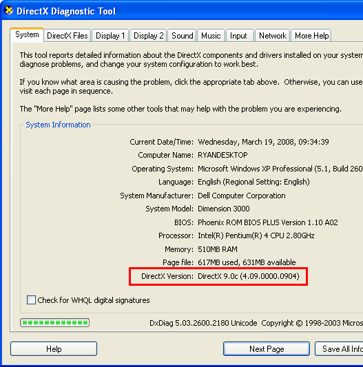 directx end-user runtime