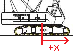 Crawler Crane CG Diagram